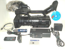 Sony Professional HVR-Z1U Camcorder w/ very low 30hrs on the meter