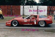 David Hobbs DeAtley Motorsport Chevrolet Corvette Trans Am 1984 Photograph
