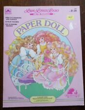1987 Lady Lovely Locks And The Pixietails Paper Dolls Vintage 1987 Uncut