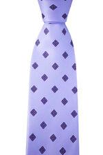 """Men's BRIONI dis n D070368 Lavender Flowers 3.25"""" 100% Pure Silk Neck Tie NWT"""