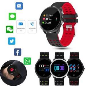Women Men Touchscreen Bluetooth Smart Watch for Samsung Huawei P40 P30 P20 P10