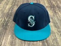 Seattle Mariners Blue/Green MLB Baseball Hat - New Era - 7 ⅛