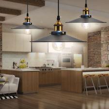Retro Hanging Ceiling Light Vintage Industrial Pendant Retractable Lamp Home
