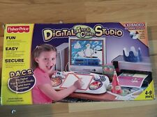 (1510) Fisher-Price Digital Arts & Crafts Studio Includes Extra CD's