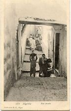POSTCARD / CARTE POSTALE / ALGERIE / RUE ARABE