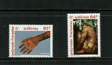 S998  French Polynesia 1992   tattoos    2v.    MNH