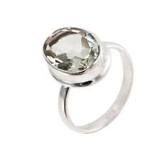 Echte Edelstein-Ringe im Band-Stil aus Sterlingsilber mit Amethyst