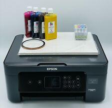More details for epson sublimation printer a4 starter kit  paper bundle 400ml