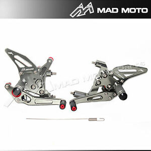Rearset Foot Pedals DUCATI PANIGALE 899 1199 REARSETS GREY