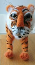 HAND MADE NEEDLE FELTED TIGER