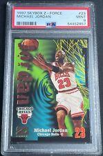 1997 Skybox Z-Force Michael Jordan #23 PSA 9 MINT Chicago Bulls GOAT HOF Invest