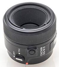 Sony AF Macro 50mm 50 mm Lens 2.8 1:2.8 für AF Dynax Sony