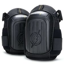 Thunderbolt Knee Pads for Work, Construction, Flooring, Gardening, DOUBLE GEL!