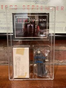 Vintage Star Wars Emperor Mail Away Complete Sealed Baggie w Catalog & Acrylic