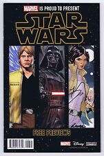 Star Wars Preview Signed by Terry & Rachel Dodson w/COA 2015