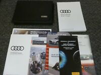 2018 Audi TT Quattro Coupe Owner Manual Operator User Guide Set 2.0L AWD