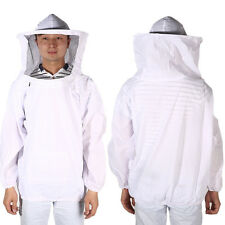 Beekeeping Beekeeper Protective Equipment Veil Smock Suit Jacket Hat Long Cuff