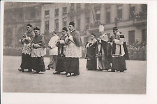 Vintage Postcard Funeral of King Albert I of Belgium