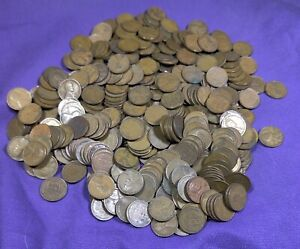 Lot of 450 Mixed Thirties Dates 1930 - 1939 Lincoln Wheat Cents Pennies!! Lot 6