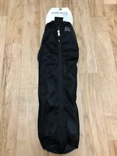 """Welcome by Manduka Yoga Mat Carrier 27"""" Long Black Mesh 6.5"""" Wide Breathable New"""