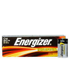 12x Genuine Energizer LR14 Industrial C Size Battery 1.5 V Alkaline Batteries