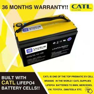 iVolta 12V 135Ah Lithium Battery for camping/caravan/RV CATL cells inside