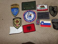 MILITARY  PATCHES MOST NATO LOT OF 10  (L2)