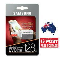 Samsung EVO Plus 128GB MicroSDXC UHS-1 4K UHD 100MBs Class 10 MB-MC128G +Adapter