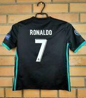 Ronaldo Real Madrid Jersey 2018 Away Youth 9-10 Shirt B31092 Soccer Adidas