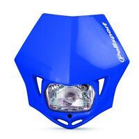MMX Road Legal Universal Headlight Enduro Yamaha WR WRF YZ YZF 125 250 450 Blue