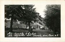 View Of The Ste Agathe Chalet, Ste Agathe des Monts, PQ Quebec Canada RPPC 1952