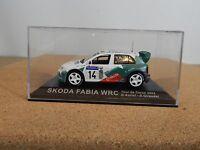 IXO/Altaya Skoda Fabia WRC Tour De Corse 2003 D.Auriol-D.Giraudet 1:43