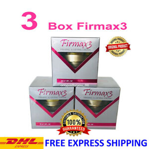 3 BOXES FIRMAX3 CREAM HORMONES FIRMING LIFTING ANTI AGING FREE SHIPPING DHL