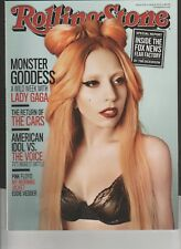 LADY GAGA MONSTER GODDESS  2011   ROLLING STONE MAGAZINE    FREE SHIP VG