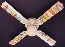 New Hawaiian Surfboards Surf Board Ceiling Fan 42""