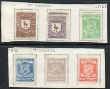 Liverpool Delivery Company: 1866-7 sets (2+4) mint