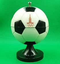 Vintage Desktop Cigarette Box SOCCER BALL Olympic Games Moscow 1980