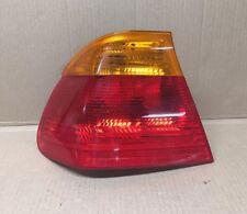 BMW E46 3-Series OEM Left Rear Tail Light Lamp Taillight Lens 63218364921
