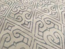 Groundworks Geometric w/ Border Fabric- Cantara / Blue Lake 0.55 yd GWF-3519.515