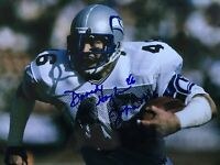 Seattle Seahawks DAVID HUGHES signed 8x10 Photo Autographed Picture Auto