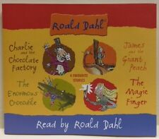 STORIES READY BY ROALD DAHL – 4 CD BOX SET, CHARLIE AND THE CHOCOLATE FACTORY