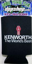 Kenworth KW worlds best can cooler coozie huggie koozie trucker diesel gear w900