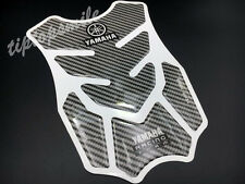 Carbon Fiber Fuel Tank Protector Pad Decal Sticker For Yamaha Racing Motorcycle