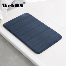 Memory Foam Bath mat Non-slip Absorbent Soft Comfortable Velvet Bathroom Carpet