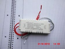 Transformator 105W 220V auf 12V Halogen Licht Electronic:.
