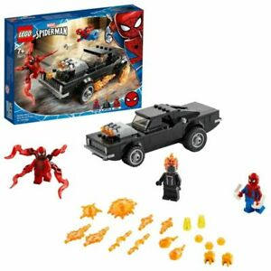 Lego (76173) - Marvel: Spider-Man - Spider-Man and Ghost Rider vs. Carnage Play