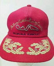 VTG Suzuka Circuit Japan International Racing Adjustable Hat Red