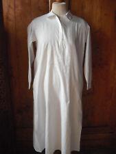 Linge ancien chemise de nuit femme à manches longues vintage