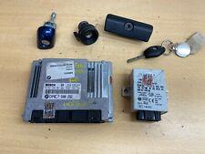 ECU + Lockset for BMW 3 Series E46 Convertible 318ci n42 Manual 2003 7508292