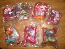 7 New Never Opened McDonald's Littlest Pet Shop Toys